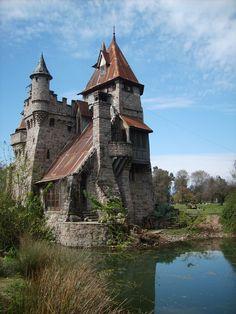 Castillo aguas claras Placilla, Chile