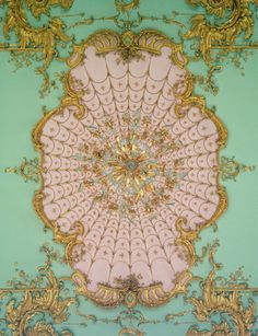 Rococo ceiling detail, Schloss Charlottenburg #piel #shoppiel #inspiration