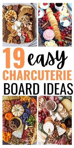 Charcuterie Recipes, Charcuterie And Cheese Board, Charcuterie Platter, Charcuterie Display, Cheese Boards, Cheese Board Display, Party Snacks, Appetizers For Party, Appetizer Recipes
