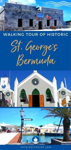 Self-Guided St George's Bermuda Walking Tour - Discover all the historic sites during you visit. From churches to the most beautiful beaches in the world, you will see it all in St. Bermuda Vacations, Bermuda Travel, Caribbean Vacations, Caribbean Cruise, Cruise Excursions, Cruise Destinations, Cruise Travel, Cruise Vacation, Vacation Ideas