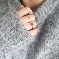 nice and simple. Love it!! #new1moment #rings #accessories #jewellery #gold…