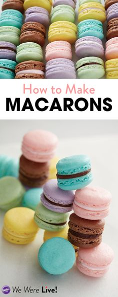 Learn how to make the perfect French macaron cookies with Chef Bob from The Wilton School as he answers your frequently asked questions about macarons. Click to watch the replay of our Facebook Live!
