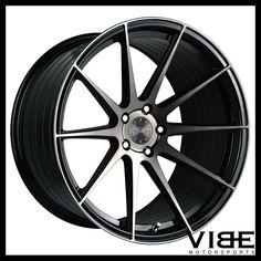 "20"" VERTINI RF1.3 FORGED MACHINED CONCAVE WHEELS RIMS FITS BMW E90 M3 SEDAN #Vertini #rf1.3 #bmw #m3 #e90 #wheels #vibemotorsports"