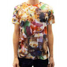 Veggie Supreme Pizza Shirt, 26€, by Pizza Shirt !!