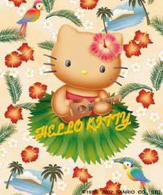Mickey Mouse Clubhouse, Minnie Mouse Party, Mouse Parties, Toy Story Birthday, 8th Birthday, Hello Kitty Pictures, Hello Kitty Birthday, Hello Kitty Wallpaper, Hawaiian Luau
