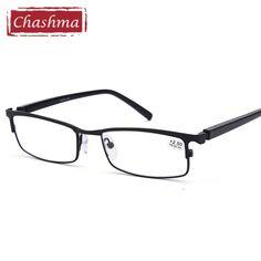 20b1e313c2 Chashma marca diseño calidad gafas moda aleación primavera bisagra Anti  reflectante lentes transpa