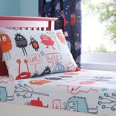 Ben De Lisi Home Kids U0027Monstersu0027 Fitted Sheet Set  At Debenhams Mobile