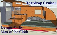 Cruiser, Teardrop Trailer, Clerestory Small Rv Campers, Tiny Camper, Build A Camper, Cargo Trailer Camper, Pull Behind Campers, Caravan Van, Teardrop Trailer Plans, Camper Boat, Camper Repair