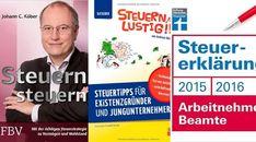 3 Bücher für eine einfache Steuererklärung | Steuerberater Blog