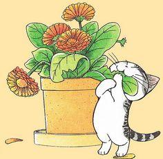 """""""Chi, une vie de chat"""" est une série de manga écrite et dessinée par Konami…"""