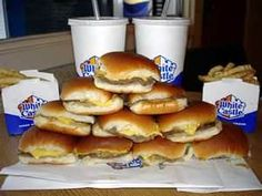 White Castle...I haven't eaten these in years!