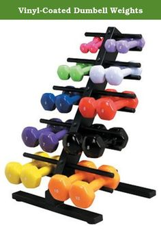 Vinyl-Coated Dumbell Weights. DUMBELL, 9 LBS, VINYL-COATED, SOLID IRON Vinyl coated, color-coded cast iron dumbbells are ideal for upper body exercise. Coated weights give a comfortable feel and help prevent floor scratches. Color-coded weight levels with both pounds and kilograms marked. Packaging: 1 Each / Each Manufacturer #:MDSP100558 Color : Yellow Exercise Weight Material : Vinyl Coated Iron Exercise Weight Type : Dumbbell Latex Free : No Product Weight (lb) : 9 lb Manufacturer…