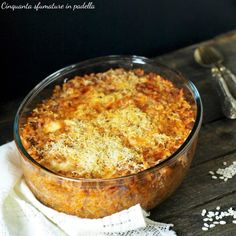 Riso al forno ricco Orzo, Biscotti, Yogurt, Macaroni And Cheese, Recipies, Food And Drink, Yummy Food, Plates, Ethnic Recipes
