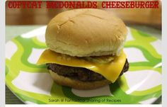 Perfect Mcdonalds Copycat Cheeseburger  #Food #Drink #Trusper #Tip