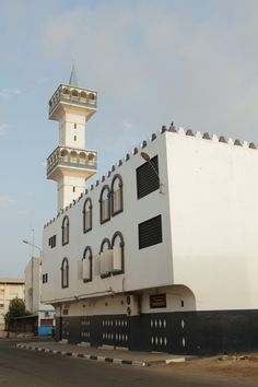 Mosque in the Morning Sun - Djibouti, Horn of Africa The Beautiful Country, Beautiful World, Beautiful Places, Horn Of Africa, Beautiful Mosques, Religious Architecture, Place Of Worship, East Africa, Home And Away