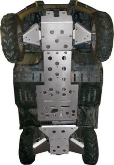 Skid plates - prevent damage to the underside of your vehicle's engine, exhaust and transmission components when going over rocky, uneven terrain.