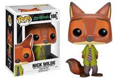 Funko Pop! Movies: Zootopia - Nick Wilde Vinyl Figure (affiliate) #funko #funkopop #popvinyl