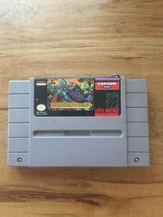 Super Ghouls 'N Ghosts Super Nintendo Snes Cleaned & Tested in Video Games & Consoles, Video Games | eBay