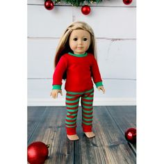 PRE ORDER Matching Girl And Doll Christmas Pajamas;Dollie And Me;Christmas Pajamas;Christmas Eve…