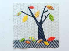 Splendid Sampler, block 45, Sewing Nut.  (Laila Nelson)