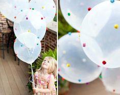 Ballons Pompons