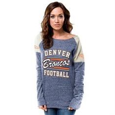 Denver Broncos Majestic Women's Tame The Tide Full Zip Hoodie ...