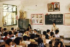 school during childhood in China