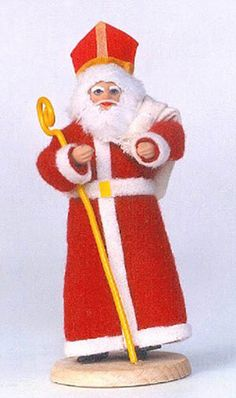 Swiety Mikolaj, or Saint Nicholas, celebrates his fist day on December 6th. On this day, Sw. Mikolaj would visit the homes of the children in the village, dressed in his bishop's robes. When Sw. Mikolaj visited the children, he gave them a gift for being good. Many of the Christmas customs celebrated today were adopted from the feast of St. Nicholas. For example, the candy cane given during the Christmas holidays symbolizes the shepherd's staff, which is carried by a bishop.