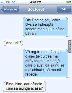 Domnule doctor...   Vezi Postarea ➡ http://9gaguri.ro/media/domnule-doctor