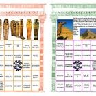This artistically designed game is a fun-filled way to give your class a  thorough review of Ancient Egyptian history.  This colorful Egyptian them...