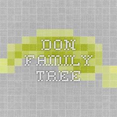 Don family tree