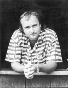 Phil Collins...the way I remember him. - - - such a talented man…thanks for sharing the picture…Gods Blessings…Mitzi…   :)