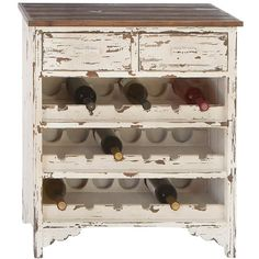 Cecina Wine Cabinet - DIY idea from an old chest of drawers