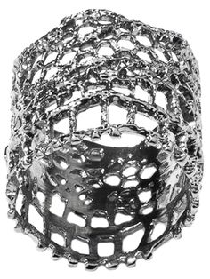AURELIE BIDERMANN Vintage Lace ring on Vein - getvein.com
