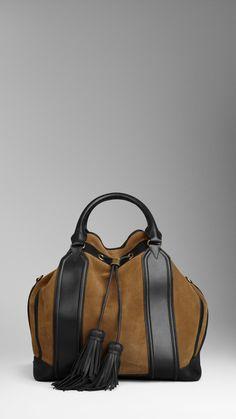 suede tassel bag | Burberry