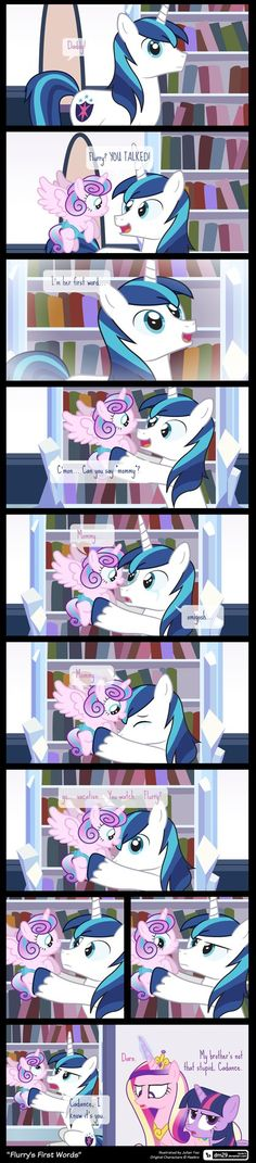 Comic Block: Flurry's First Words by dm29.deviantart.com on @DeviantArt