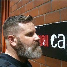 Beards. Men. Going Grey.