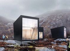 The NYE SKAPET Mountain Lodges (Rendering) in Soddatjorn Norway by KOKO Architects #interiors #interiordesign #architecture #decoration #interior #home #design #photogrid #bookofcabins #homedecor #decoration #decor #prefab #smallhomes #instagood #compactliving #fineinteriors #cabin #tagsforlikes #tinyhomes #tinyhouse #like4like #FABprefab #tinyhousemovement #likeforlike #houseboat #tinyhouzz #container #containerhouse by tinyhousemag
