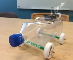 This Electric Bottle Car was inspired by YouTube user crazyPT. (https://www.youtube.com/watch?v=voT-xADi-RE) Our team used recyclable materials to encourage reuse of plastic that has been inundating landfills. Electric Bottle Car can be built by children and adults. It is a fun project for everyone.