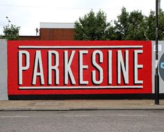 Bread Collective create gorgeous 100 metre long east London typographic mural