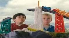 Tackle obstacles like the giant monster and the tallest hill ever, with the Thomas & Friends TrackMaster Avalanche Escape Set! - iSpot.tv