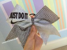 Just Do It Nike Cheer Bow! <3
