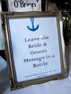 I would do this for the guest book if I did a beach wedding. Great idea