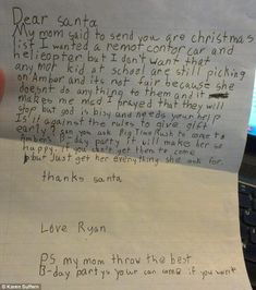 21 Adorable & Funny Letters To Santa
