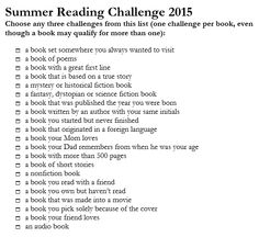 reading challenge list - Google Search