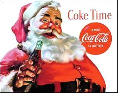 Coca-Cola Christmas Santa - Always loved the vintage Santa