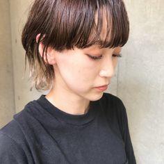 bibito マッシュウルフ✂️ hair TSUJII Short Hairstyles For Women, Hair Designs, Hair Inspo, Asian Woman, Locks, Bangs, Short Hair Styles, Fashion Beauty, Hair Makeup