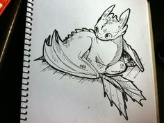 """inktober day toothless sitting like a cat loaf (and no one here, Astrid! not Hiccup nope) "" Toothless Sketch, Toothless Tattoo, How To Draw Toothless, Amazing Drawings, Cute Drawings, Animal Drawings, Httyd Dragons, Dreamworks Dragons, Croque Mou"