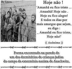 """""""Tomorrow I'll be sad, not today. Today I'll be happy. And I'll say this everyday."""" 
