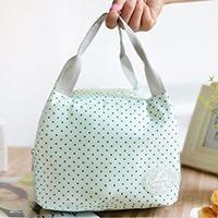 New Women Handbag Bottle Organizer Girls Shoe Bag Lunch Box Bag Folding Storage Bags With The Insulation Function